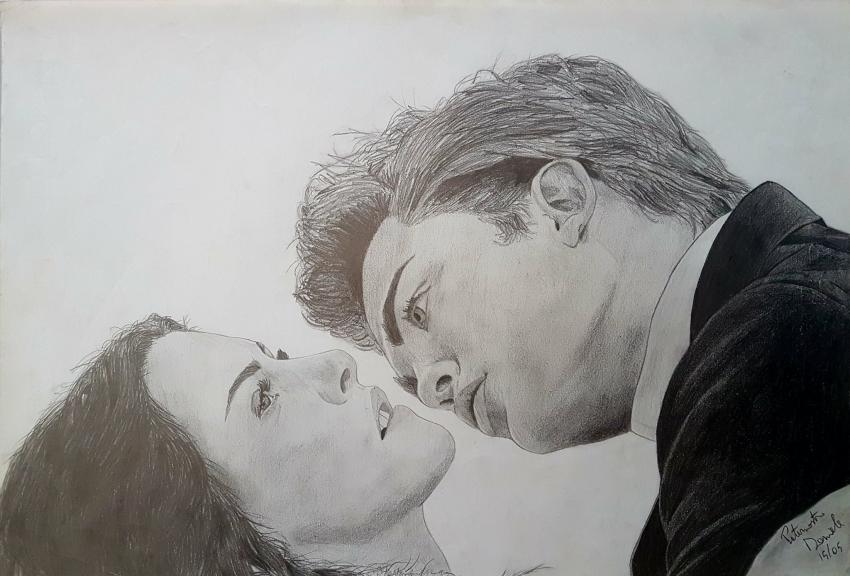 Robert Pattinson, Kristen Stewart by eyes94
